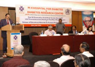 Prof M  Viswanathan Diabetes Research Centre